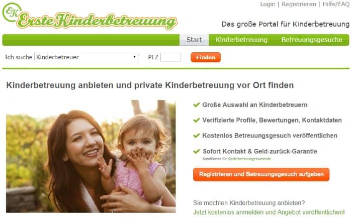 ErsteKinderbetreuung Onlineshop